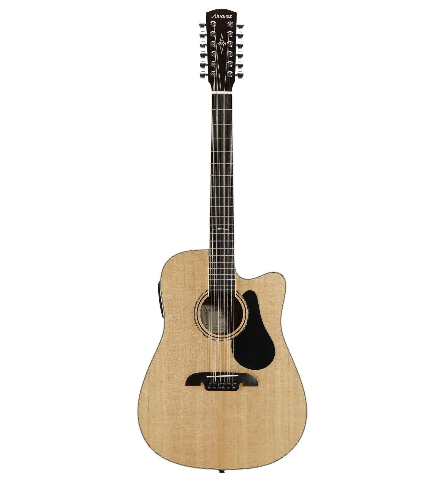 Alvarez AD60-12CE Dreadnought 12-String Acoustic/Electric Guitar