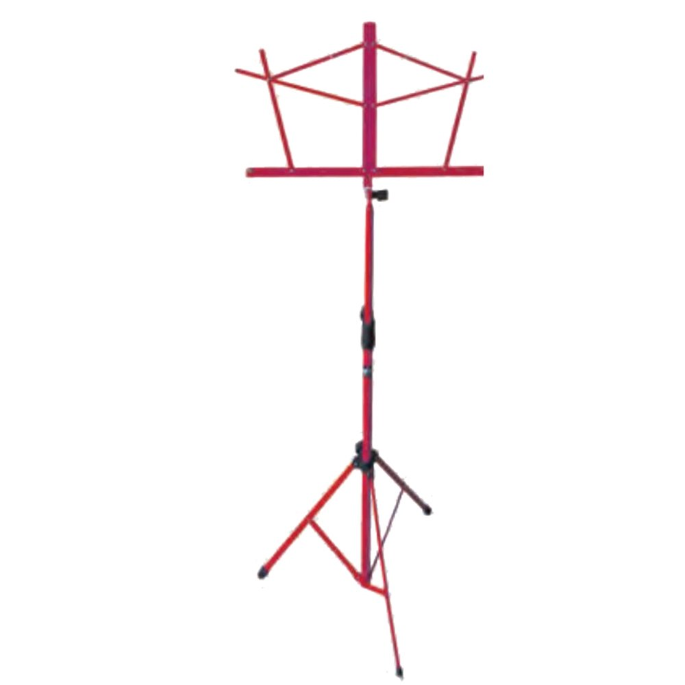 Hamilton KB900RD Red Deluxe Folding Music Stand with Bag