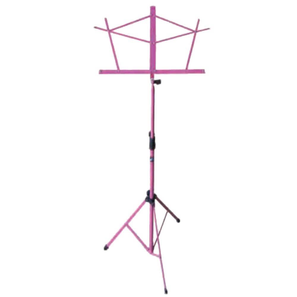 Hamilton KB900PK Pink Deluxe Folding Music Stand with Bag