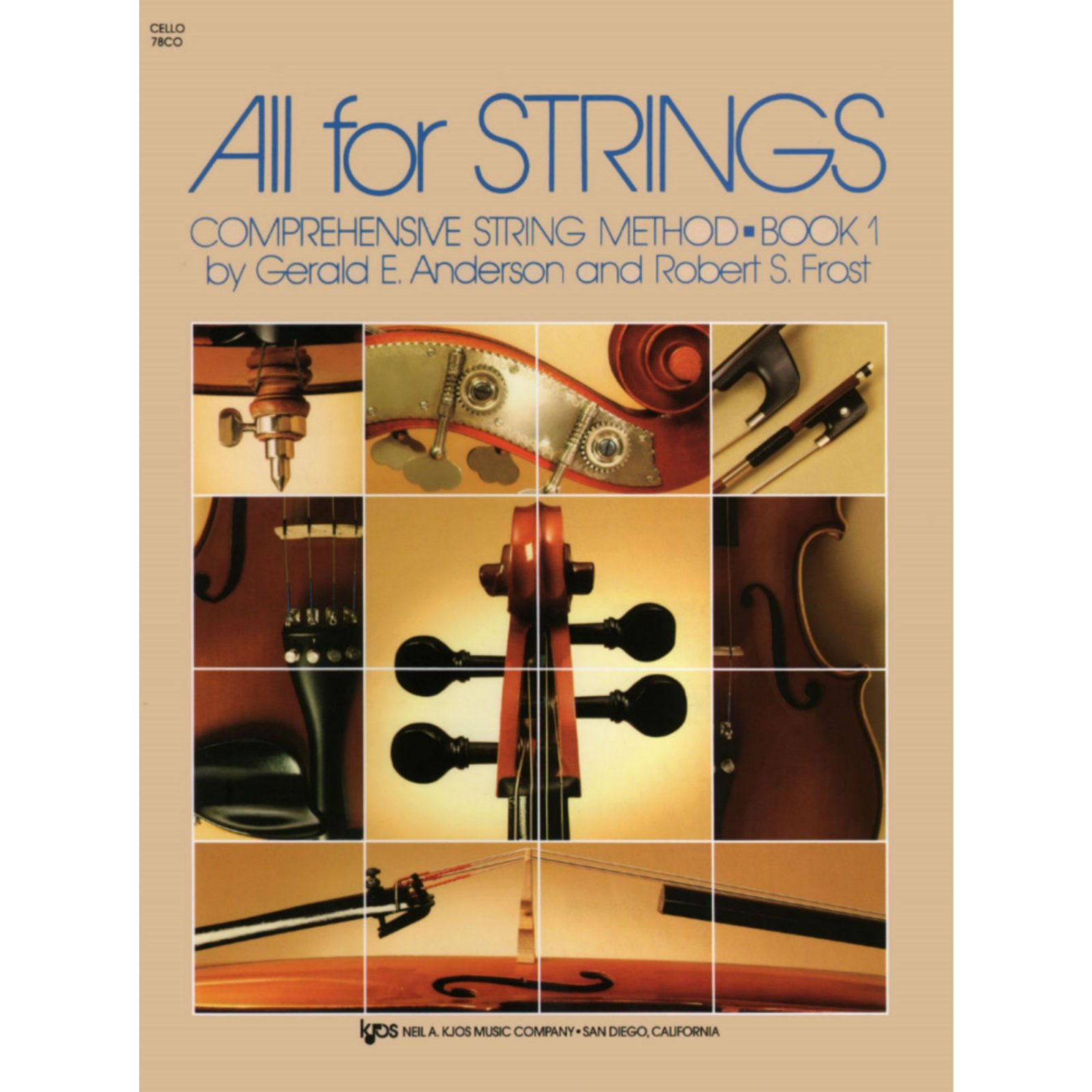 All For Strings Comprehensive String Method Cello Book One