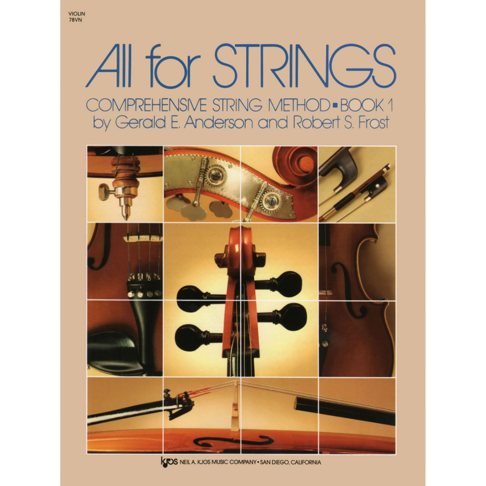 All For Strings Comprehensive String Method Violin Book One