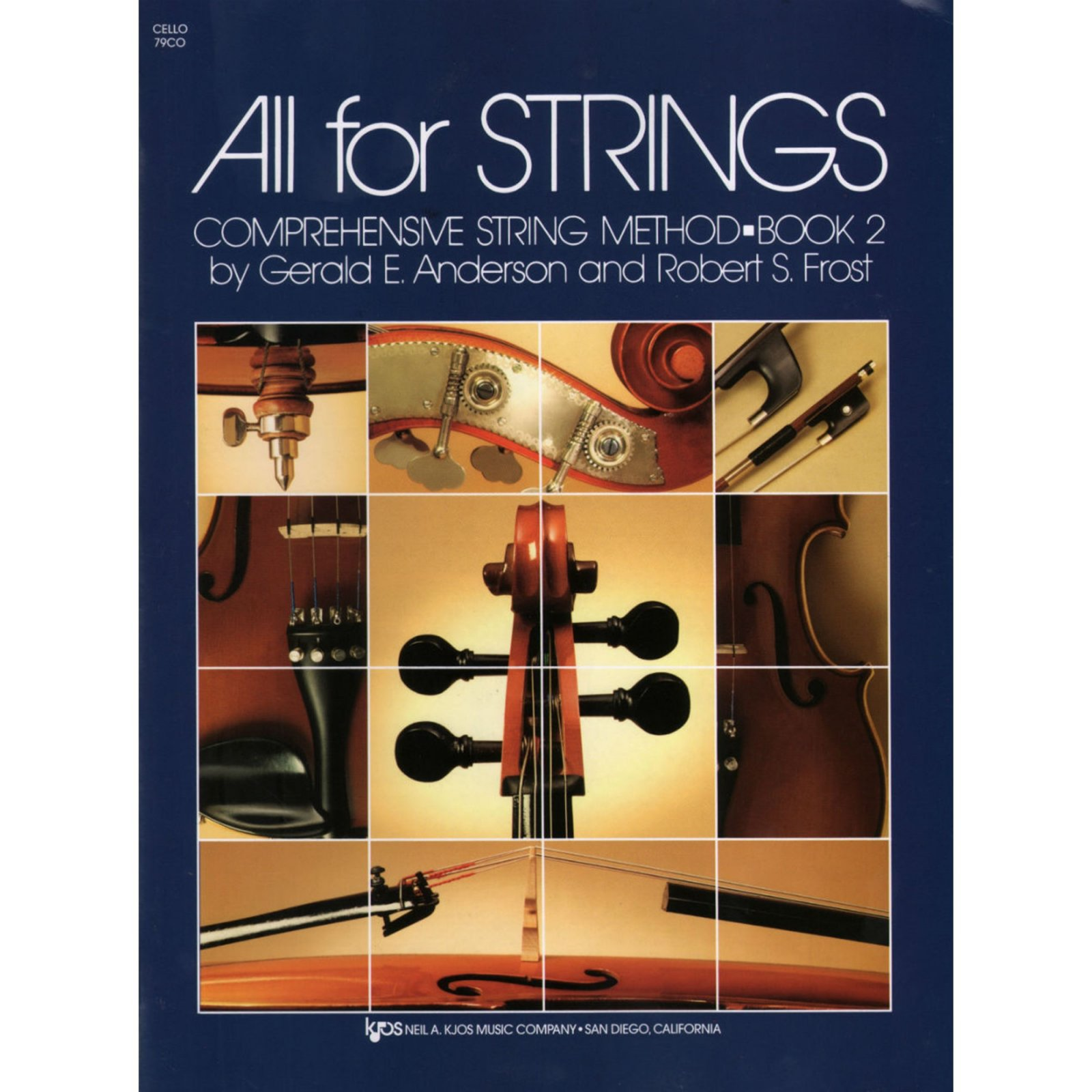 All For Strings Comprehensive String Method Cello Book Two