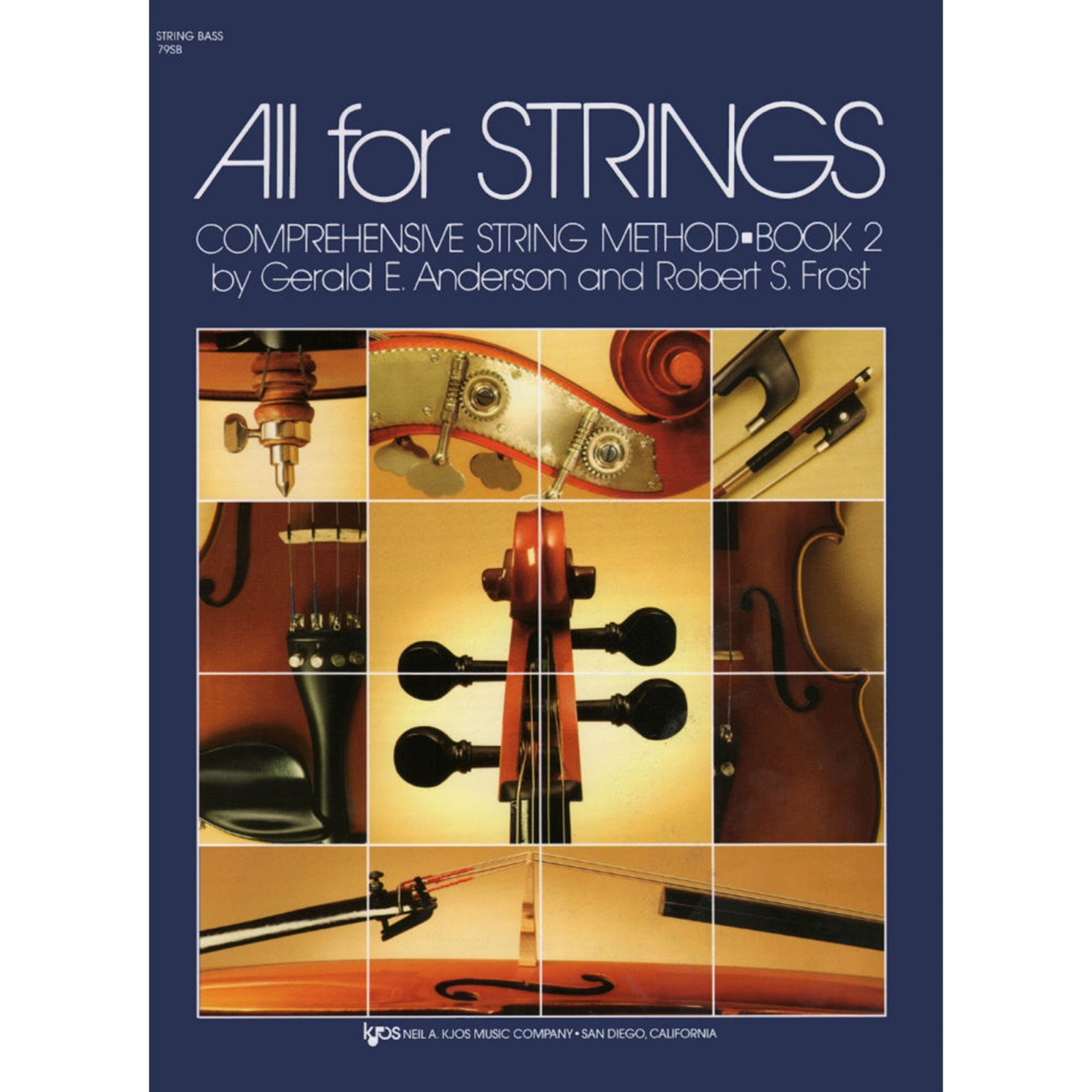 All For Strings Comprehensive String Method String Bass Book Two