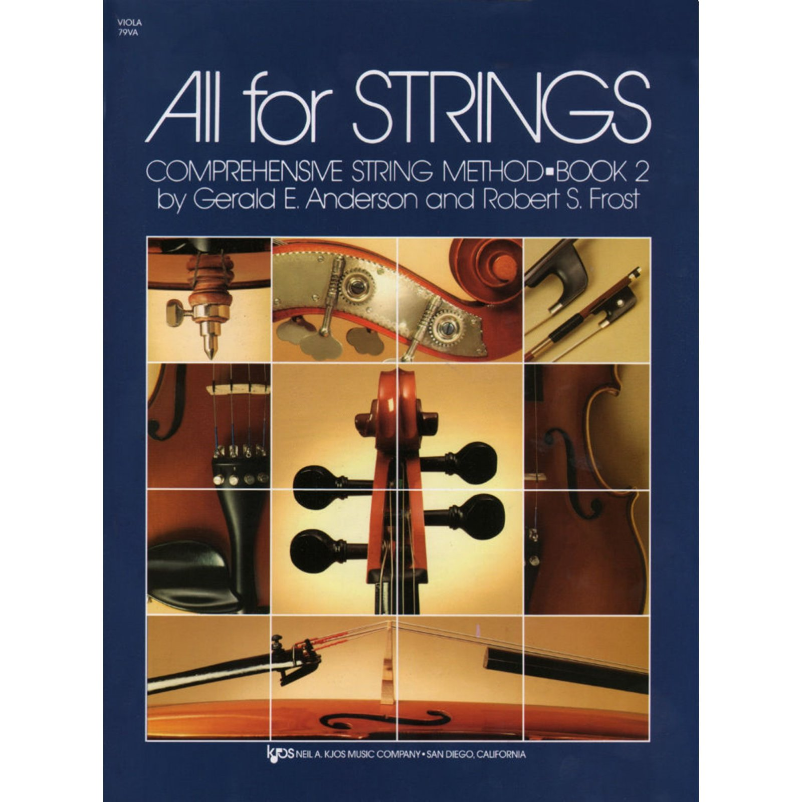 All For Strings Comprehensive String Method Viola Book Two