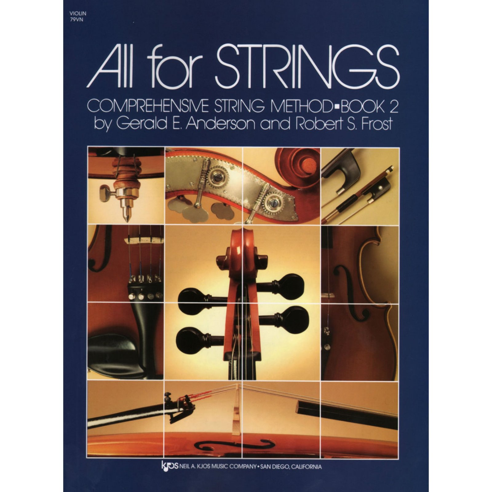 All For Strings Comprehensive String Method Violin Book Two