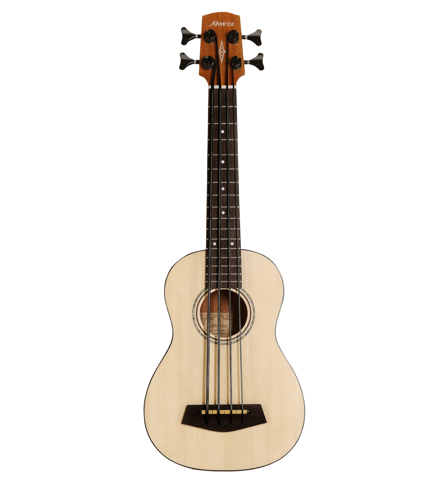 Alvarez AU60EBASS Artist Series, Acoustic/Electric, Bass Ukulele