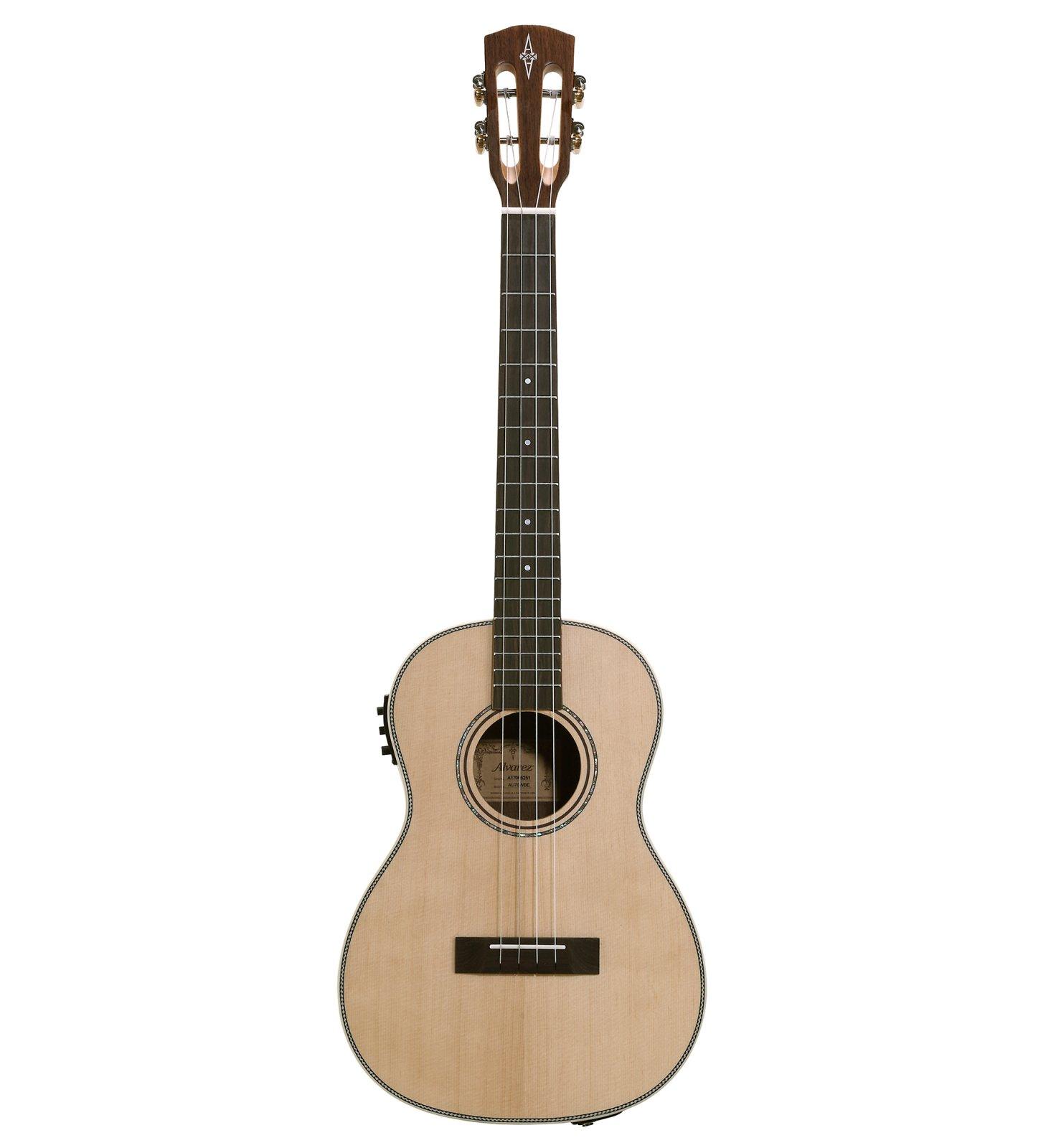 Alvarez AU70WBE Artist Series Acoustic/Electric  Baritone Ukulele