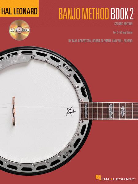 Hal Leonard Banjo Method Book Two with CD