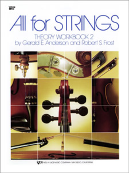 All For Strings Theory Workbook Violin Book Two