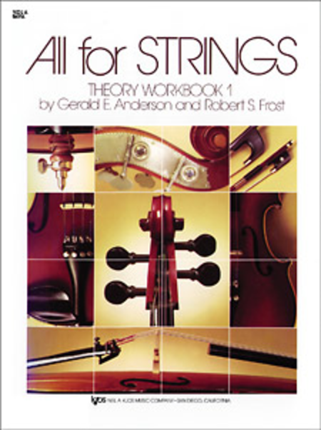 All For Strings Theory Workbook Viola Book One