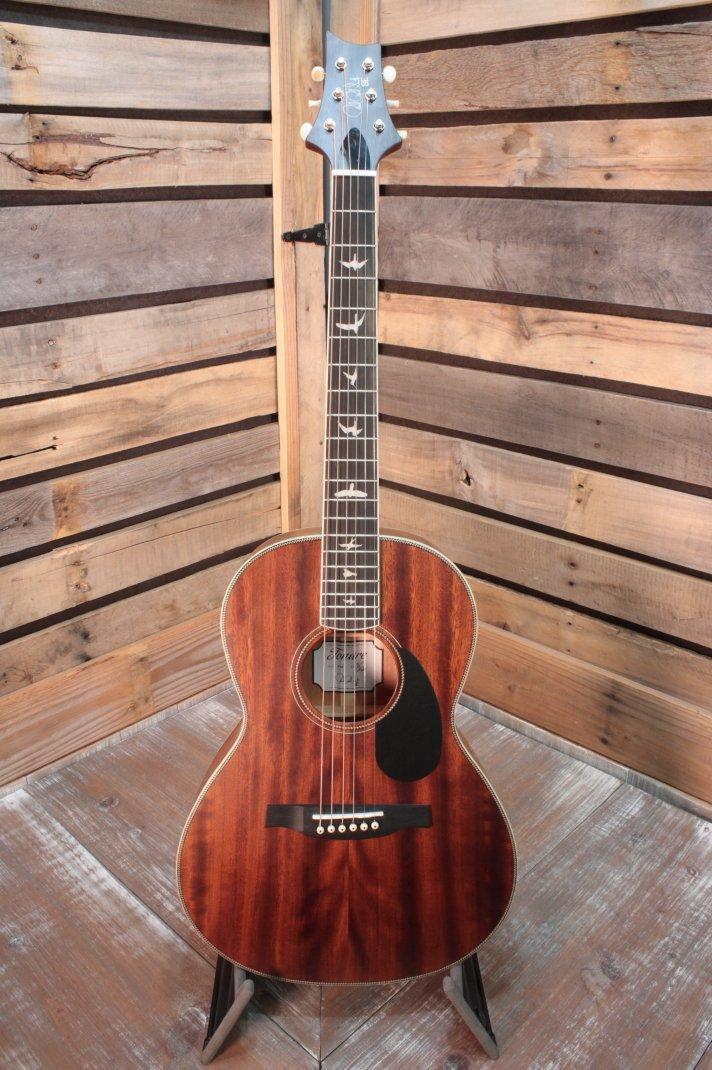 PRS SE P20 Parlor Vintage Mahogany Acoustic Guitar with Gigbag