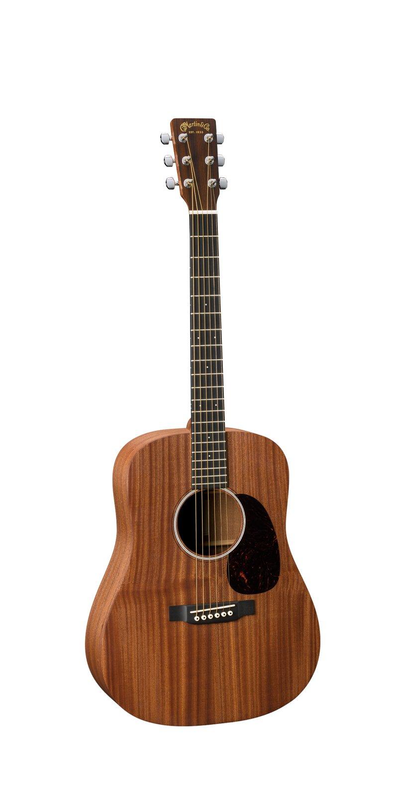 Martin DJr-10E-01 Sapele Acoustic/Electric Guitar with Gigbag