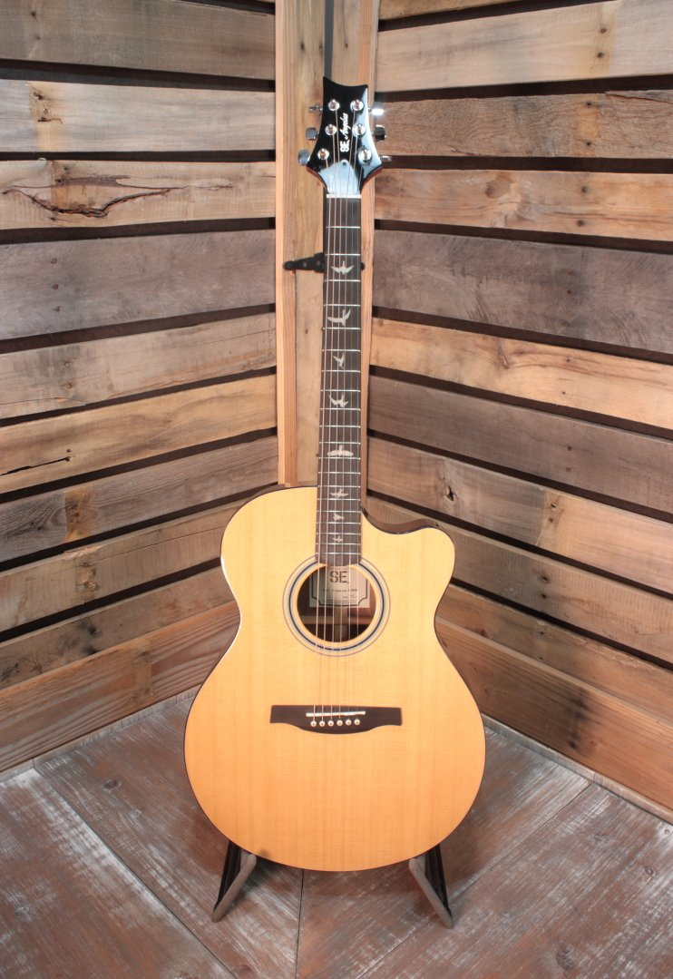 Used PRS SE A30ENA Acoustic/Electric Guitar with Hardshell Case