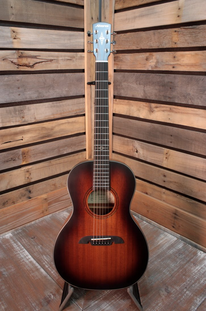 Alvarez AMP66SSHB-AGP Limited Edition Modern Parlor Acoustic Guitar with Deluxe Gigbag