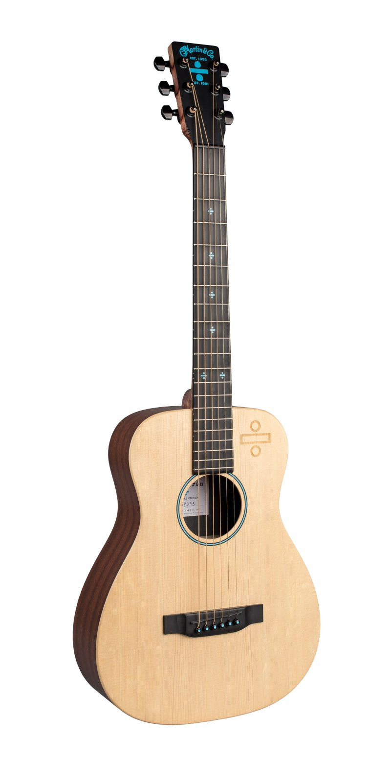 Martin LX Ed Sheeran 3 Divide Acoustic/Electric Guitar with Gigbag