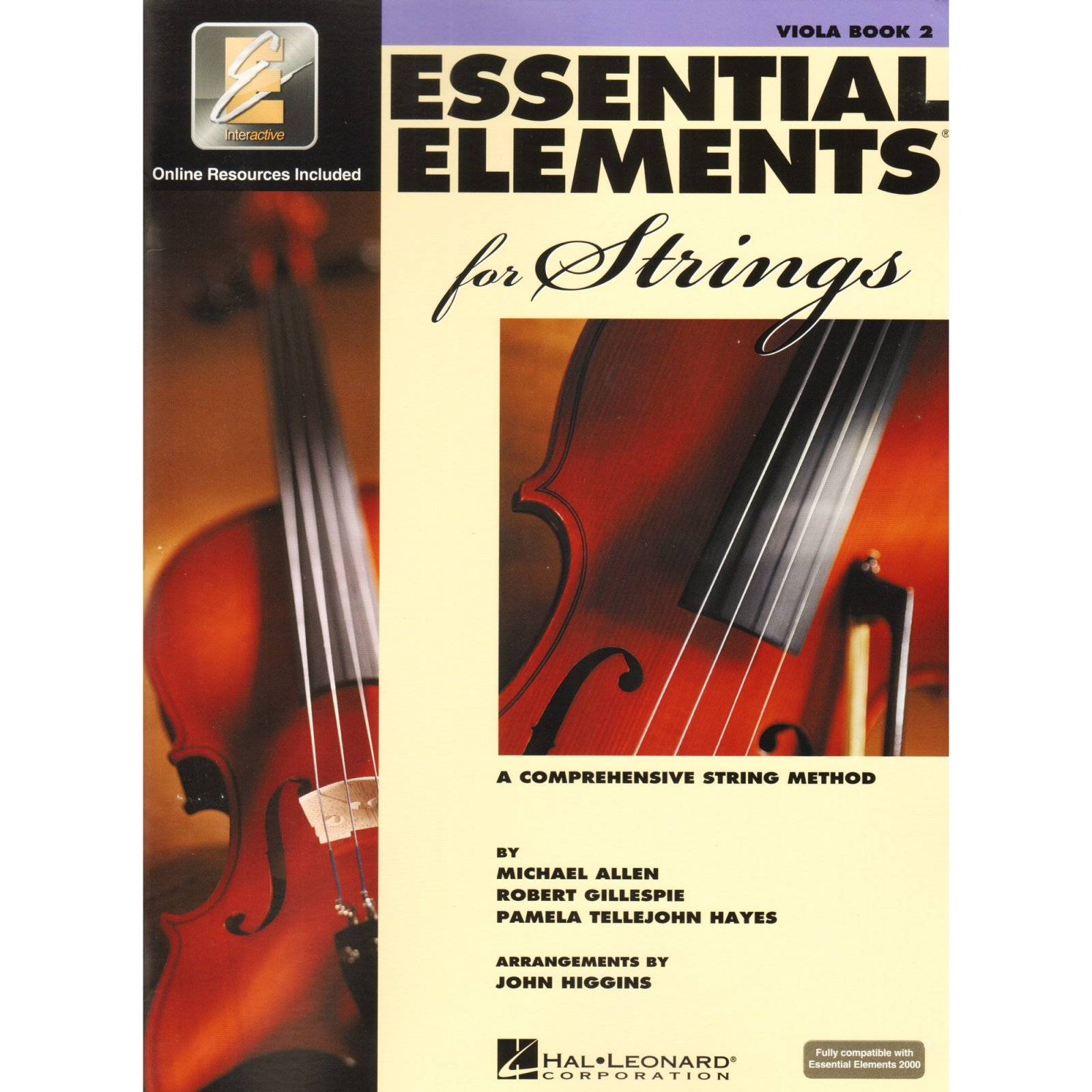 Essential Elements for Strings Viola Book Two A Comprehensive String Method- Online Resurces Included
