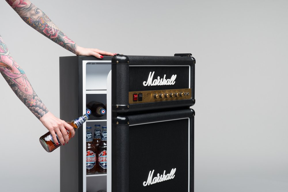 Marshall 3.2 Cubic Feet Bar Fridge