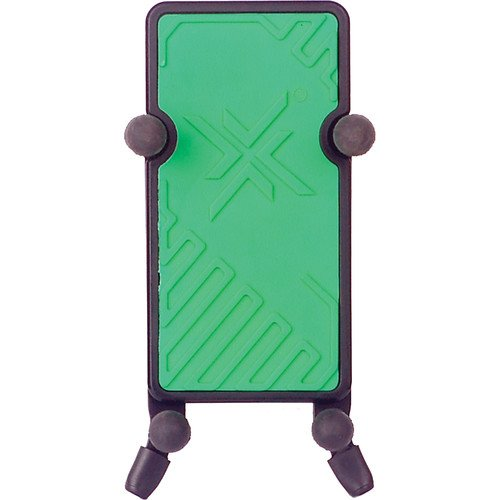 Hamilton KB125E-GN System X Green Phone Holder with Clamp & Gooseneck