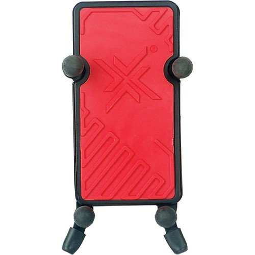 Hamilton KB125E-RD System X Red Phone Holder with Clamp & Gooseneck