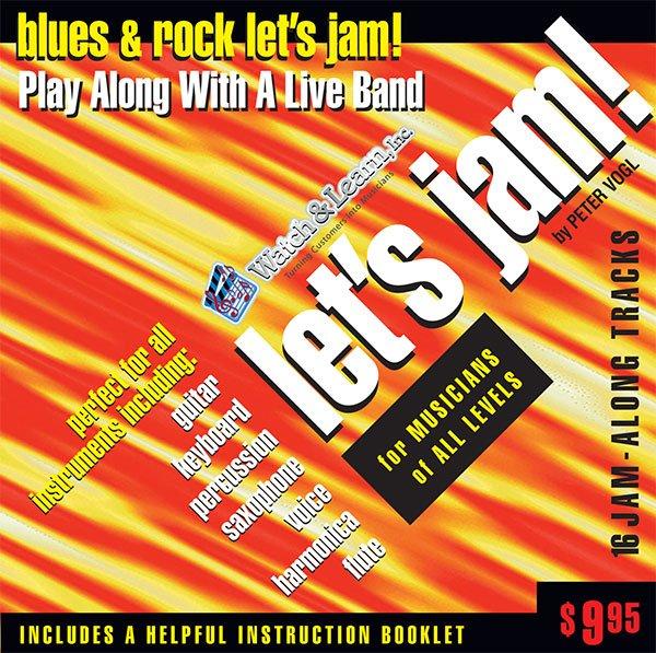 Let�s Jam! Blues & Rock Play Along CD