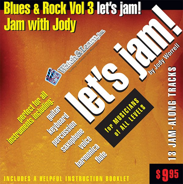 Let's Jam! Blues & Rock Play Along CD