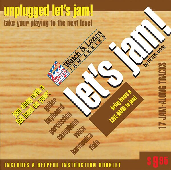 Let�s Jam! Unplugged Play Along CD