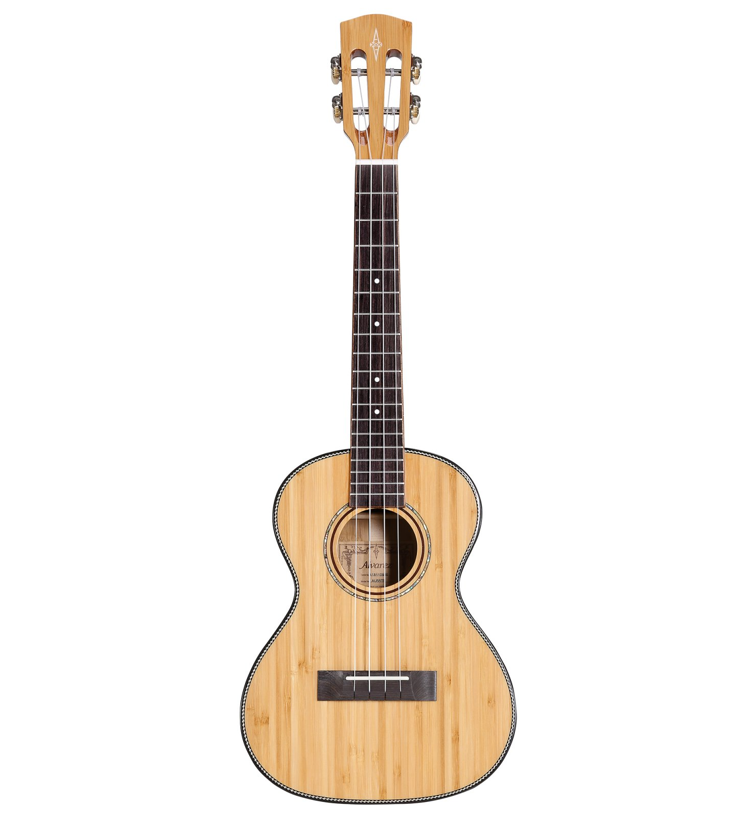 Alvarez MU55TE Masterworks, All-Solid Tenor, Acoustic/Electric Tenor Ukulele