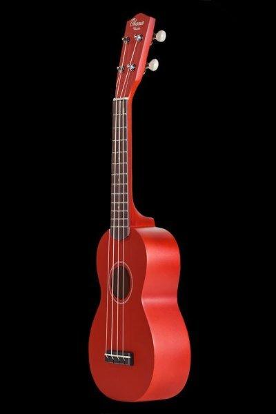 Ohana SK-10 Color Finish Soprano Ukuleles