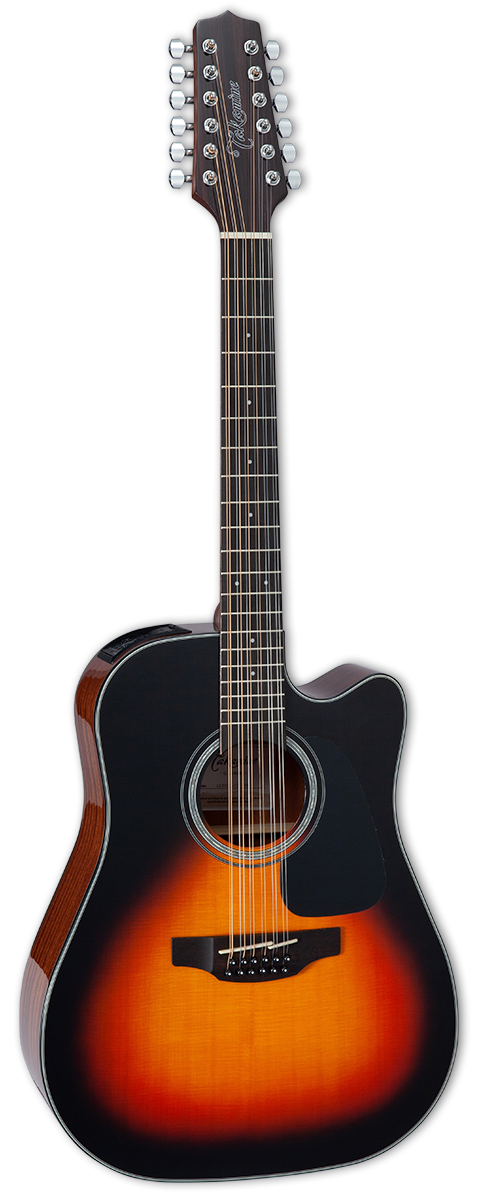 Takamine GD30CE12 Brown Sunburst Acoustic/Electric 12-String Guitar