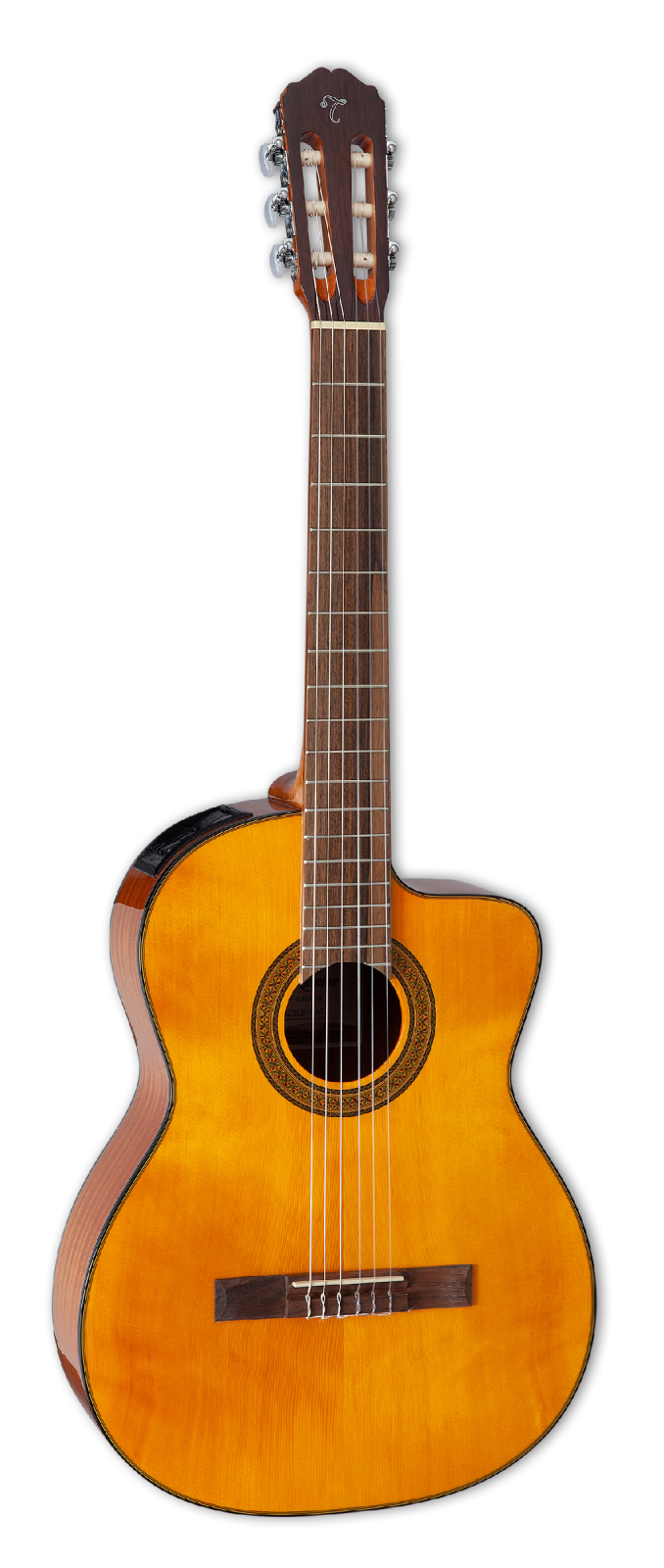 Takamine GC3CENAT Acoustic/Electric Classical Guitar with Cutaway