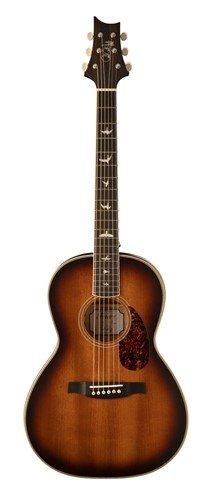 PRS SE P20E Parlor Tobacco Sunburst Acoustic/Electric Guitar with Gigbag