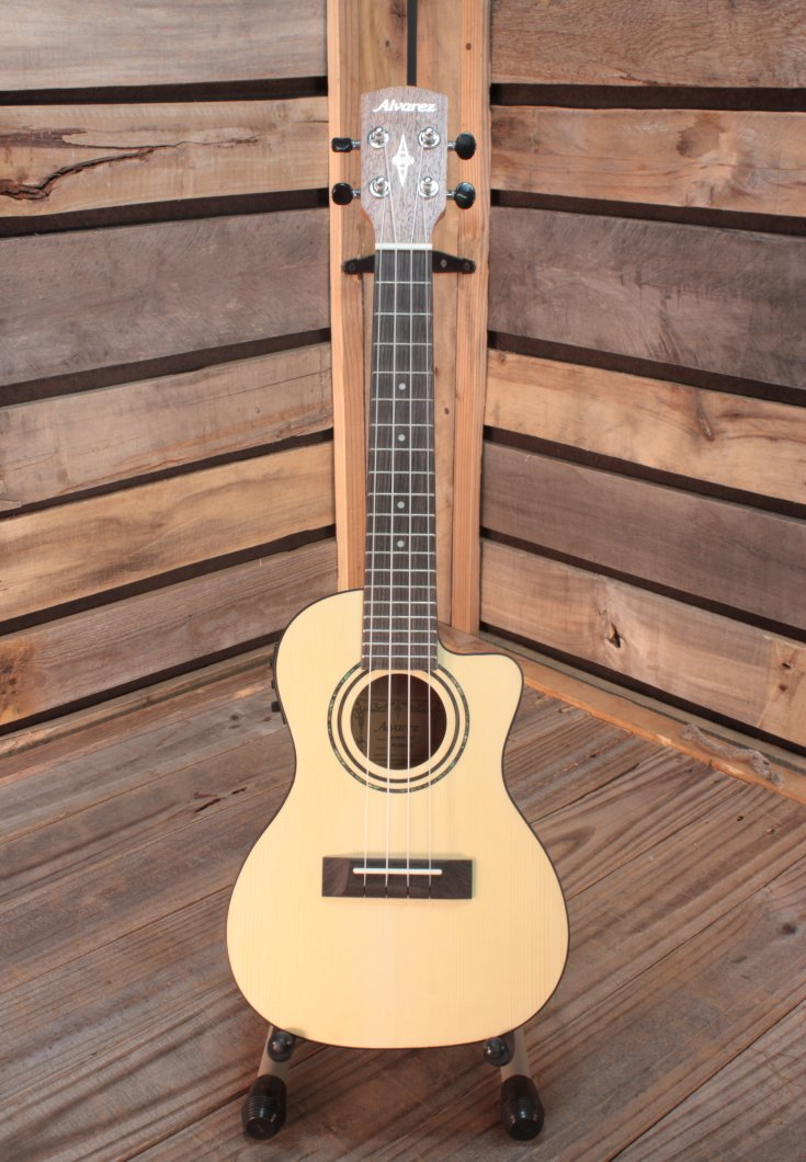 Alvarez RU26CCE Concert Acoustic/Electric Ukulele with Cutaway