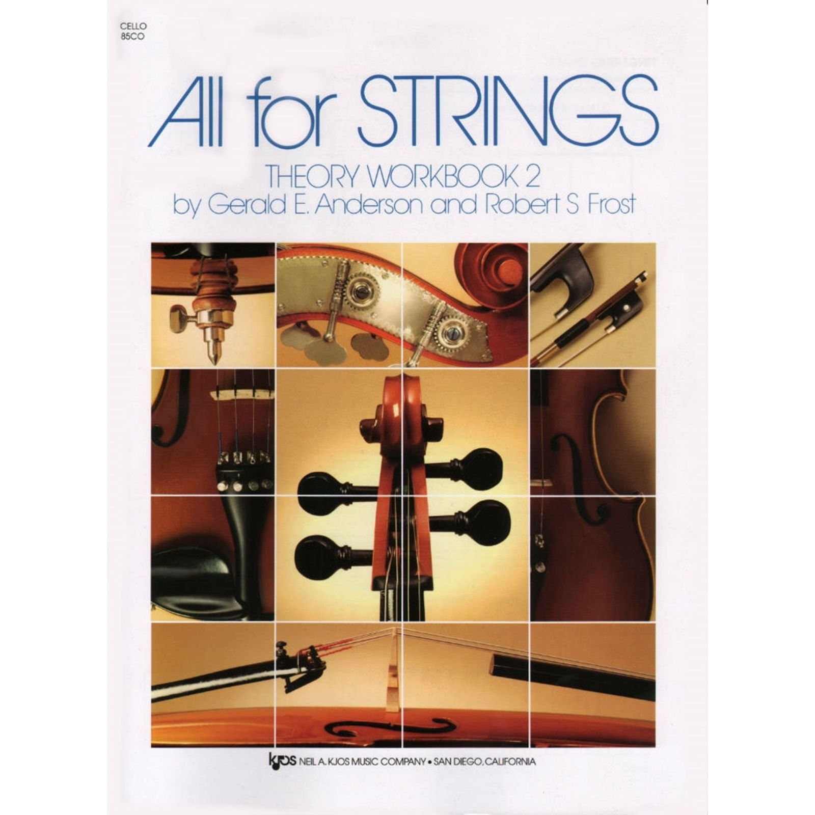 All For Strings Theory Workbook Cello Book Two