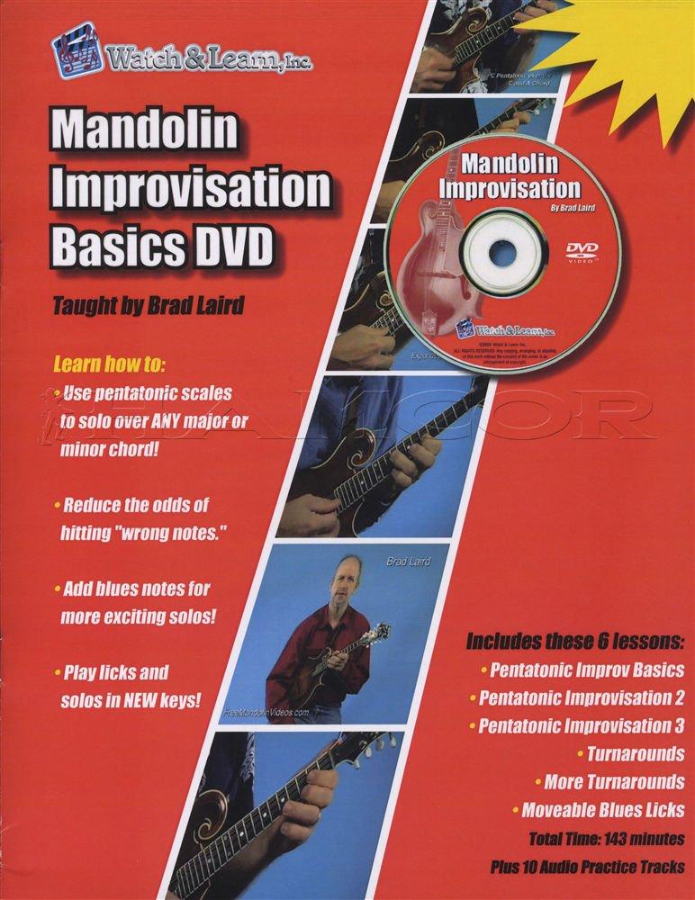Mandolin Improvisation Basics Book and DVD
