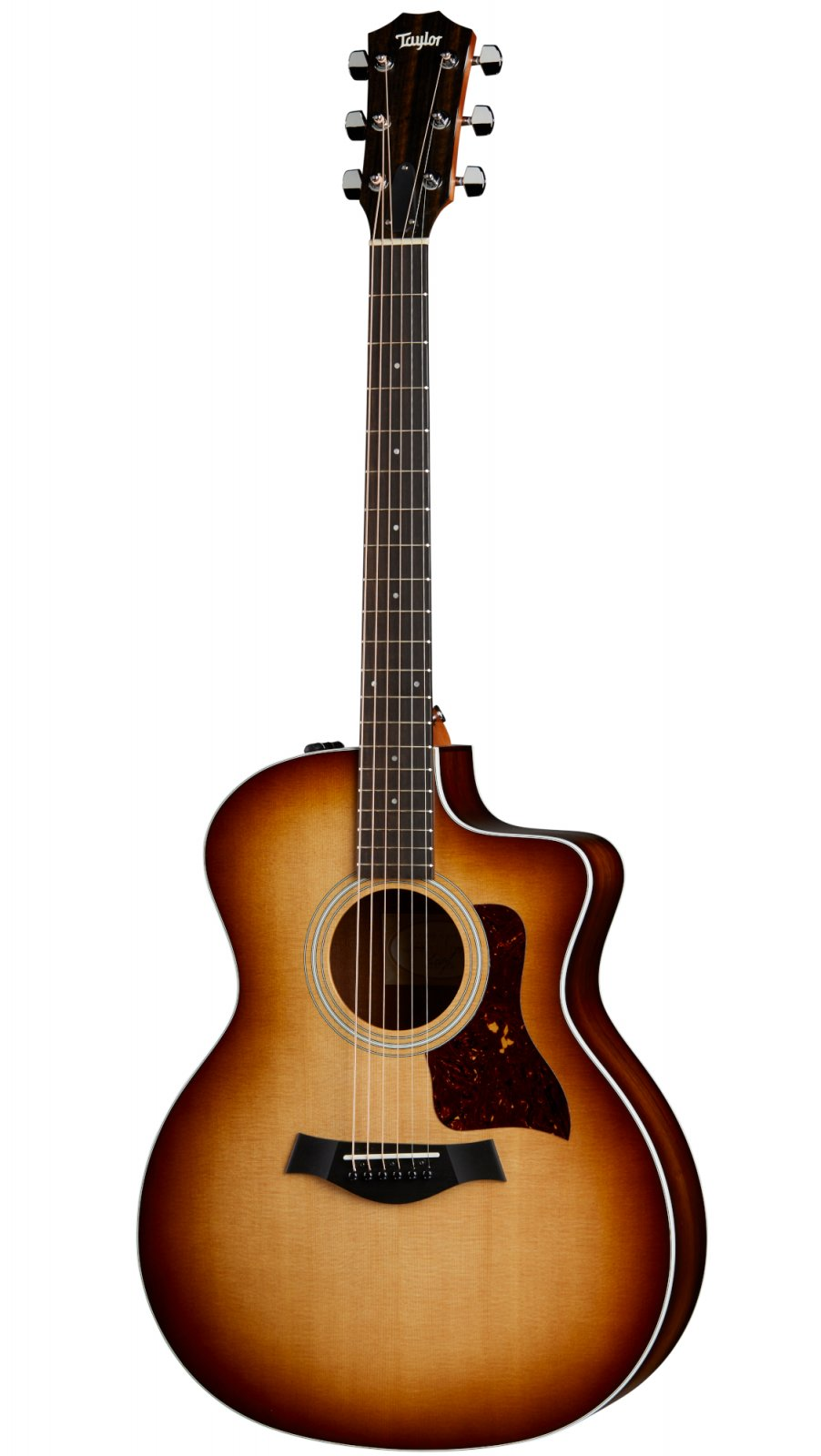 Taylor 214ce-K SB Koa Sunburst Acoustic/Electric Guitar with Cutaway and Soft Shell Case