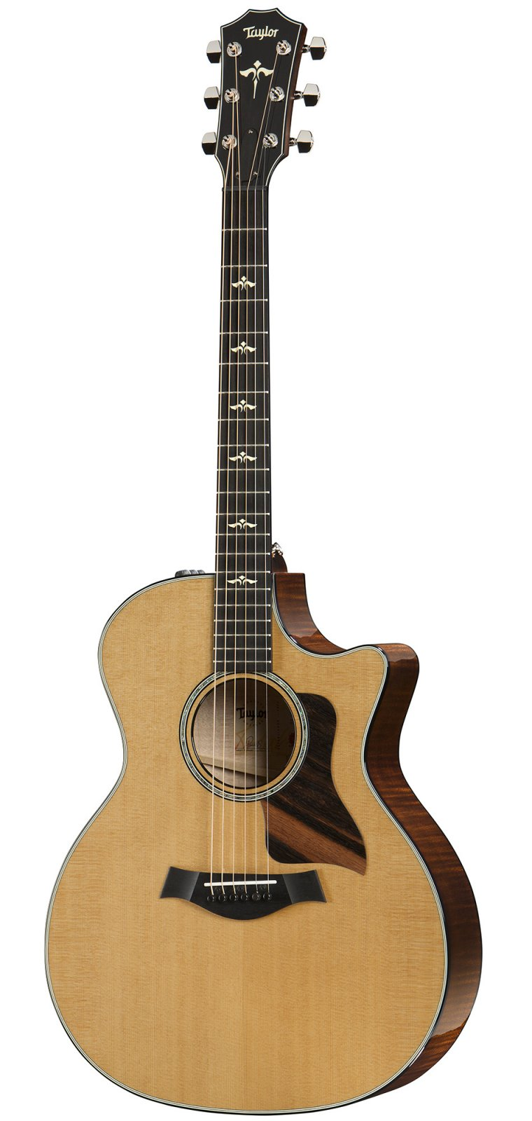 Taylor 614ce, V-Class Bracing, Grand Auditorium Acoustic/Electric Guitar with Hardshell Case