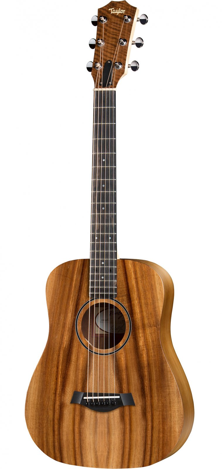 Taylor BTe-Koa Baby Taylor Acoustic/Electric Guitar with Gigbag