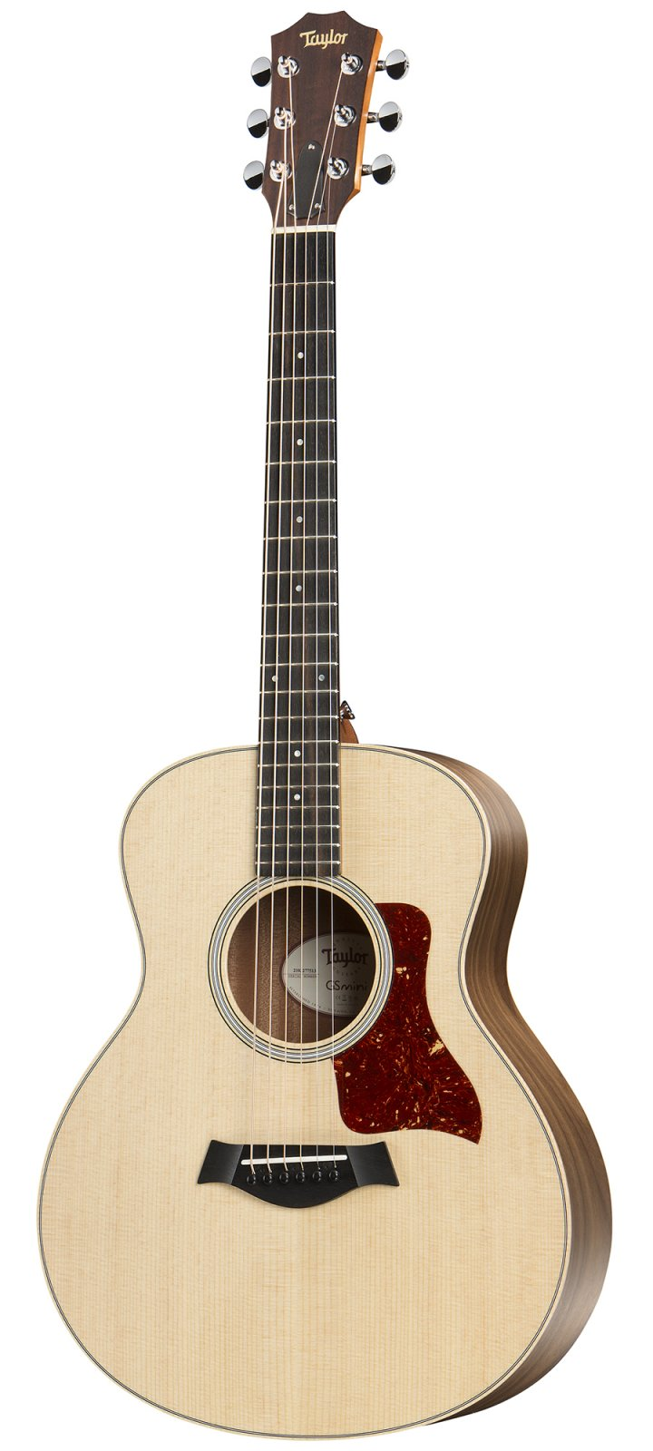Taylor GS Mini-e Walnut Acoustic/Electric Guitar with Deluxe Hard Gigbag