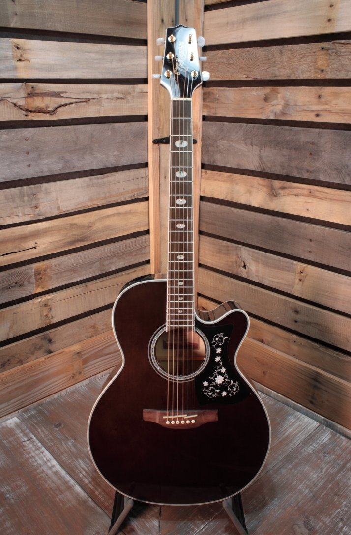 Takamine GN75CETBK Solid Spruce Top Acoustic/Electric Guitar
