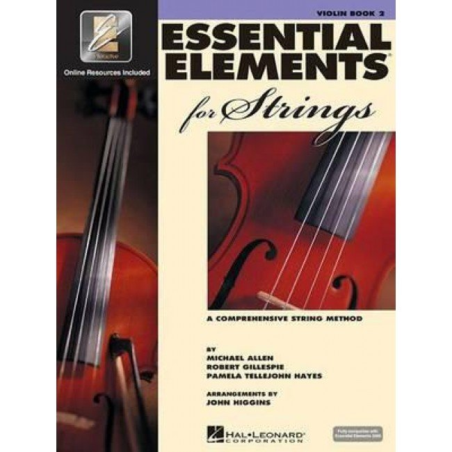 Essential Elements for Strings Violin Book Two A Comprehensive String Method- Online Resurces Included
