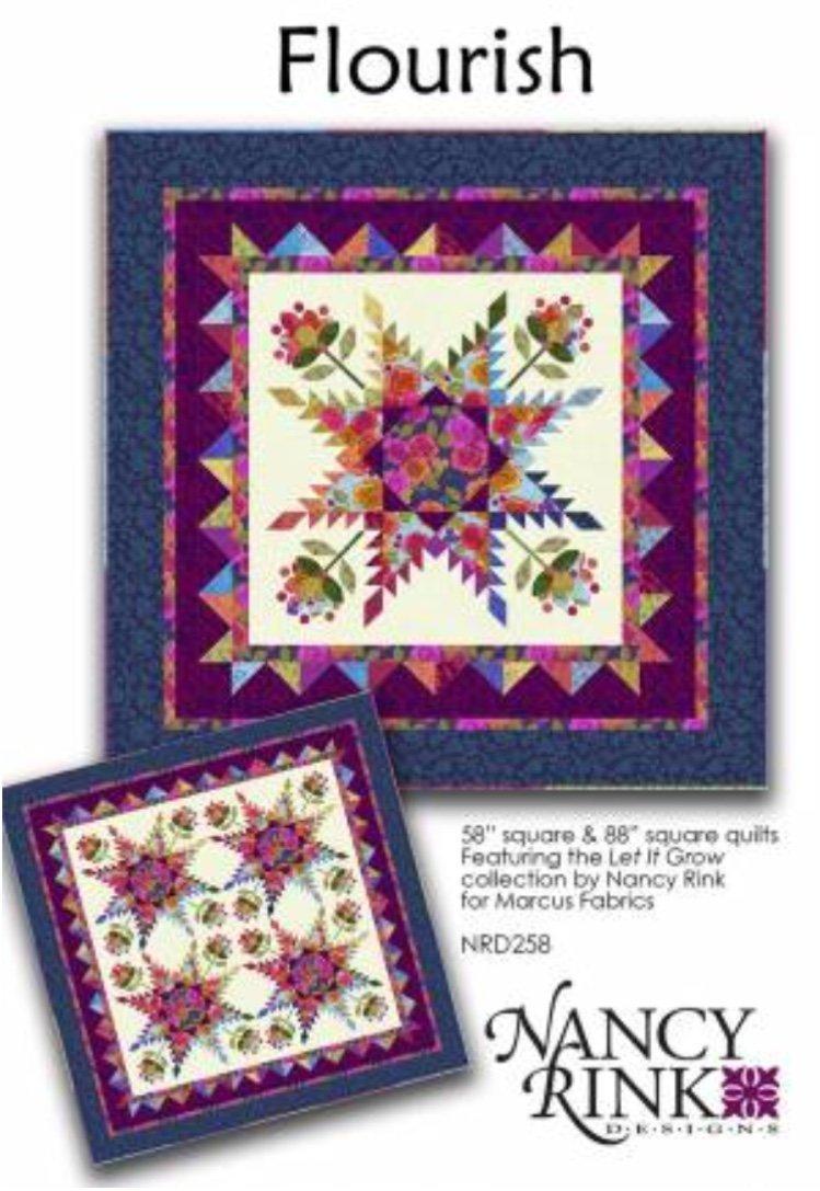 Let It Grow - Flourish Quilt Kit 88 x 88