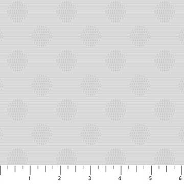 Simply Neutral Grey Large Dot Stripe