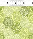 Ajisai Green Hexagons