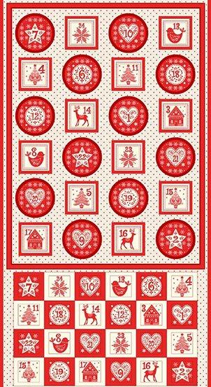 Scandi Advent Pocket Panel