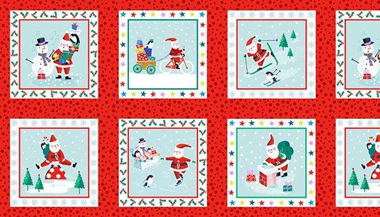 Jolly Santa - Labels