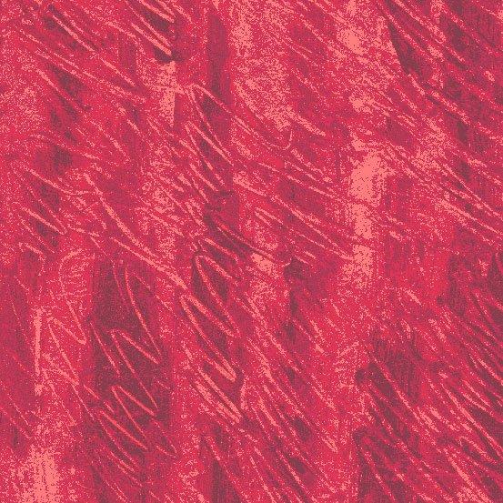 Red Fingerpainting