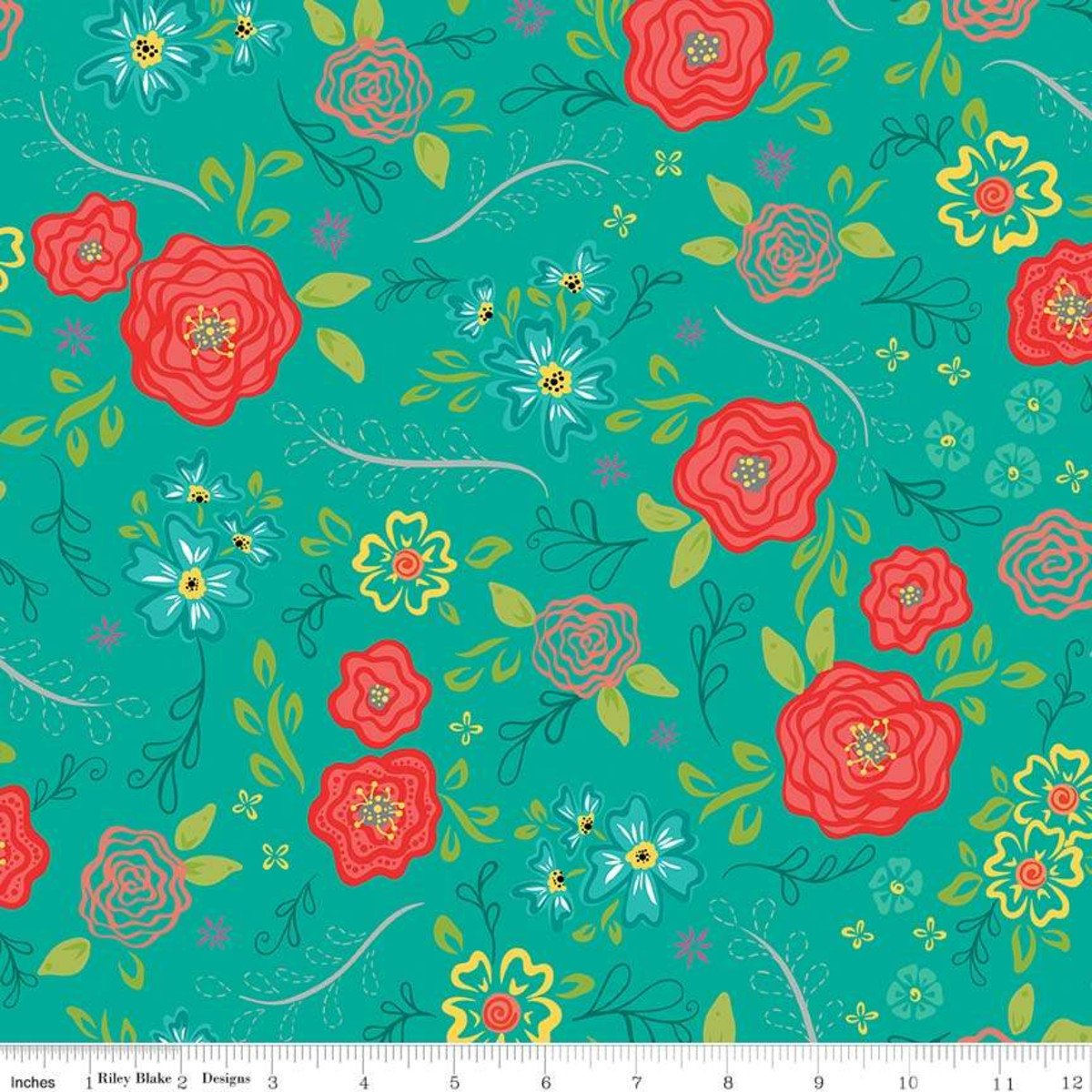 Main Teal - Wildflower Bouquet