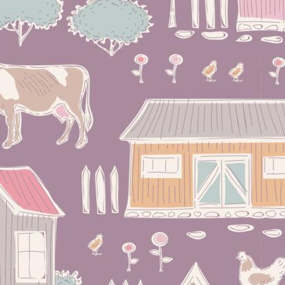 Tiny Farm Mauve - Tiny Farm by Tilda