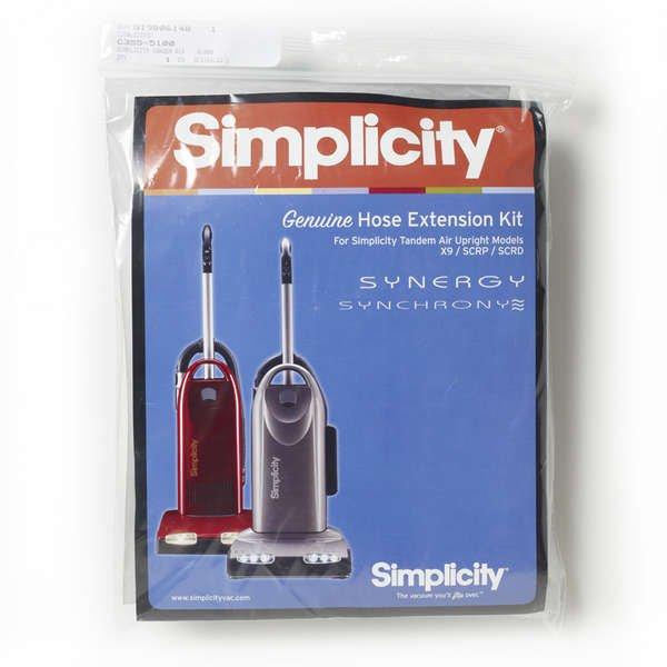 Simplicity Hose Extension Kit - Tandem Air Upright Models