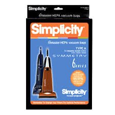 Simplicity Bags - Type A HEPA